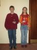 Jugendspieler 2004 - Jana Holste und Dominik Fornfeist