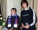 Jugendspieler 2005 - Lea Vinke und Patrice David